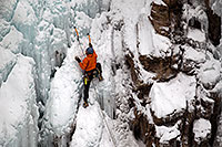 /images/133/2011-01-09-ouray-climbers-48254.jpg - #09033: Ice climbing by Ouray … January 2011 -- Ouray, Colorado