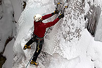 /images/133/2011-01-09-ouray-climbers-48662.jpg - #09140: Ice climbing by Ouray … January 2011 -- Ouray, Colorado