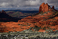 /images/133/2011-03-22-sedona-snowy-61815.jpg - #09200: Morning in Sedona … March 2011 -- Schnebly Hill, Sedona, Arizona