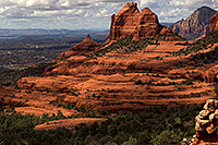 /images/133/2011-03-22-sedona-snowy-61990.jpg - #09205: Morning in Sedona … March 2011 -- Schnebly Hill, Sedona, Arizona