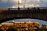 /images/133/2011-04-02-havasu-bridge-evening-65847.jpg - #09215: Evening at London Bridge in Lake Havasu City … April 2011 -- London Bridge, Lake Havasu City, Arizona
