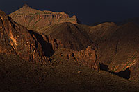 /images/133/2011-05-18-supers-dark-70911.jpg - #09292: Evening in Superstitions … May 2011 -- Superstitions, Arizona