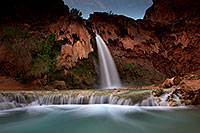 /images/133/2011-06-25-havasu-falls-79478.jpg - #09430: Havasu Falls at sunrise … June 2011 -- Havasu Falls!, Havasu Falls, Arizona