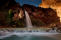 /images/133/2011-06-25-havasu-falls-79504.jpg - #09406: Havasu Falls at sunrise … June 2011 -- Havasu Falls!, Havasu Falls, Arizona