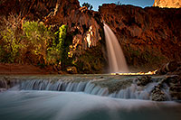 /images/133/2011-06-26-havasu-falls-79749.jpg - #09437: Havasu Falls at sunrise … June 2011 -- Havasu Falls!, Havasu Falls, Arizona