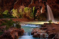 /images/133/2011-06-26-havasu-falls-79752.jpg - #09413: Havasu Falls at sunrise … June 2011 -- Havasu Falls!, Havasu Falls, Arizona