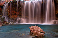 /images/133/2011-06-26-havasu-rock-falls-80641.jpg - #09422: Evening at Rock Falls … June 2011 -- Rock Falls, Havasu Falls, Arizona