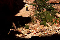 /images/133/2011-06-27-hava-canyon-swater-80800.jpg - #09428: Along Havasupai Trail … June 2011 -- Havasupai Trail, Havasu Falls, Arizona