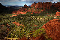 /images/133/2011-09-09-sedona-schnebly-93951.jpg - #09499: View from Schnebly Hill Road in Sedona … September 2011 -- Schnebly Hill, Sedona, Arizona