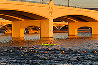 /images/133/2011-10-23-soma-swim-106730.jpg - #09719: 00:21:02 Yellow caps swimming at Soma Triathlon 2011 … October 2011 -- Tempe Town Lake, Tempe, Arizona