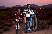 /images/133/2011-11-05-trek-fury-110868.jpg - #09745: 07:45:55 #20 and #15 at the end of the lap of Mountain Biking at Trek Bicycles 12 and 24 Hours of Fury … Nov 5-6, 2011 -- McDowell Mountain Park, Fountain Hills, Arizona