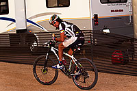 /images/133/2011-11-05-trek-fury-tinker-110726.jpg - #09766: 07:10:19 #1 Tinker Juarez with a sandwich at Trek Bicycles 12 and 24 Hours of Fury … Nov 5-6, 2011 -- McDowell Mountain Park, Fountain Hills, Arizona