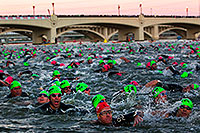 /images/133/2011-11-20-ironman-swim-121379.jpg - 09838: 00:05:52 - Early in the swim - Ironman Arizona 2011 … November 2011 -- Tempe Town Lake, Tempe, Arizona