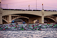 /images/133/2011-11-20-ironman-swim-d3s-0847.jpg - #09900: 00:04:05 - Early in the swim - Ironman Arizona 2011 … November 2011 -- Tempe Town Lake, Tempe, Arizona