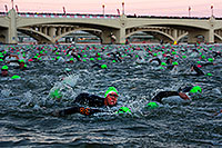 /images/133/2011-11-20-ironman-swim-d3s-0896.jpg - #09901: 00:05:23 - Early in the swim - Ironman Arizona 2011 … November 2011 -- Tempe Town Lake, Tempe, Arizona