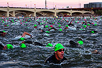 /images/133/2011-11-20-ironman-swim-d3s-0906.jpg - #09902: 00:05:34 - Early in the swim - Ironman Arizona 2011 … November 2011 -- Tempe Town Lake, Tempe, Arizona