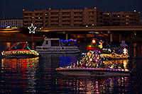 /images/133/2011-12-10-tempe-aps-lights-126766.jpg - #09862: Boat #28 before APS Fantasy of Lights Boat Parade … December 2011 -- Tempe Town Lake, Tempe, Arizona