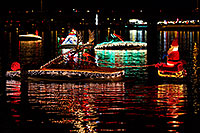 /images/133/2011-12-10-tempe-aps-lights-127025.jpg - #09866: Boat #30 before APS Fantasy of Lights Boat Parade … December 2011 -- Tempe Town Lake, Tempe, Arizona