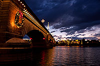 /images/133/2011-12-16-havasu-bridge-1ds3-0167.jpg - #09877: Evening at London Bridge in Lake Havasu City … December 2011 -- London Bridge, Lake Havasu City, Arizona