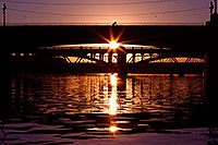 /images/133/2011-12-28-tempe-sunset-bridge-128555.jpg - #09886: Sunset at Tempe Town Lake … December 2011 -- Tempe Town Lake, Tempe, Arizona