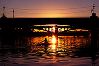 /images/133/2011-12-28-tempe-sunset-bridge-128698.jpg - #09887: Sunset at Tempe Town Lake … December 2011 -- Tempe Town Lake, Tempe, Arizona