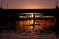 /images/133/2011-12-28-tempe-sunset-bridge-128700.jpg - #09889: Sunset at Tempe Town Lake … December 2011 -- Tempe Town Lake, Tempe, Arizona