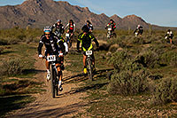 /images/133/2012-01-14-mcdowell-bikes-137397.jpg - #10053: 00:03:45 Marathoners biking at McDowell Meltdown MBAA 2012 … January 14, 2012 -- McDowell Mountain Park, Fountain Hills, Arizona
