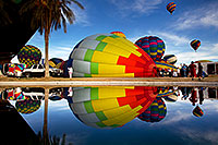 /images/133/2012-01-20-havasu-balloons-refl-143008.jpg - #10104: Balloon Fest in Lake Havasu City, Arizona … January 2012 -- Lake Havasu City, Arizona