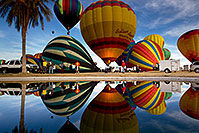 /images/133/2012-01-20-havasu-balloons-refl-143186.jpg - #10106: Balloon Fest in Lake Havasu City, Arizona … January 2012 -- Lake Havasu City, Arizona