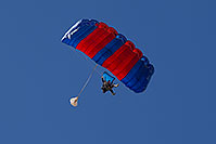 /images/133/2012-01-20-havasu-parachute-141989.jpg - #10017: Skydivers at Balloon Fest in Lake Havasu City, Arizona … January 2012 -- Lake Havasu City, Arizona