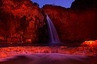 /images/133/2012-05-12-havasu-falls-paint-162990.jpg - #10276: Evening at Havasu Falls … May 2012 -- Havasu Falls, Havasu Falls!, Arizona