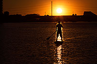 /images/133/2012-10-14-tempe-sunst-up-pad-1dx_4236.jpg - #10277: Stand up paddler at Tempe Town Lake … October 2012 -- Tempe Town Lake, Tempe, Arizona
