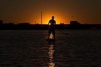 /images/133/2012-10-14-tempe-sunst-up-pad-1dx_4290.jpg - #10281: Stand up paddler at Tempe Town Lake … October 2012 -- Tempe Town Lake, Tempe, Arizona
