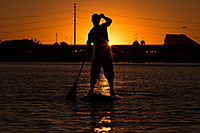 /images/133/2012-10-14-tempe-sunst-up-pad-1dx_4307.jpg - #10282: Stand up paddler at Tempe Town Lake … October 2012 -- Tempe Town Lake, Tempe, Arizona