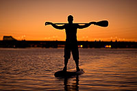 /images/133/2012-10-14-tempe-sunst-up-pad-1dx_4473.jpg - #10284: Stand up paddler at Tempe Town Lake … October 2012 -- Tempe Town Lake, Tempe, Arizona