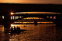 /images/133/2012-10-22-tempe-rowers-1dx_10292.jpg - #10397: Rowers at sunset at Tempe Town Lake … October 2012 -- Tempe Town Lake, Tempe, Arizona