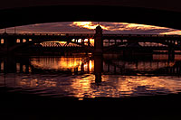 /images/133/2012-12-18-tempe-night-50mm-10053h.jpg - #10572: Sunset at Tempe Town Lake … December 2012 -- Tempe Town Lake, Tempe, Arizona
