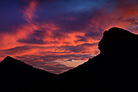 /images/133/2013-05-08-supers-rock-face-9-90-38388.jpg - #11083: Sunset in Superstitions … May 2013 -- Apache Trail Road, Superstitions, Arizona