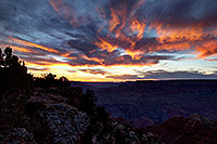 /images/133/2014-08-29-gc-lipton-4-1dx-0145.jpg - #12255: Sunset in Grand Canyon … August 2014 -- Lipan Point, Grand Canyon, Arizona