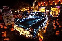 /images/133/2014-12-05-tubac-lights-1dx_7002.jpg - #12308: Hudson at Luminaria Nights in Tubac, Arizona … December 2014 -- Tubac, Arizona