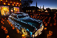/images/133/2014-12-06-tubac-lights-1dx_7182.jpg - #12310: Hudson at Luminaria Nights in Tubac, Arizona … December 2014 -- Tubac, Arizona