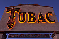 /images/133/2014-12-06-tubac-sign-1dx_7131.jpg - #12313: Where art and History Meet - Luminaria Nights in Tubac, Arizona … December 2014 -- Tubac, Arizona