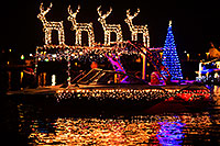 /images/133/2014-12-13-tempe-boats-1x_11046.jpg - #12425: APS Fantasy of Lights Boat Parade … December 2014 -- Tempe Town Lake, Tempe, Arizona