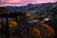 /images/133/2015-09-23-red-pass-evening-5d3_3138.jpg - #12694: Images of Red Mountain Pass between Ouray and Silverton … September 2015 -- Red Mountain Pass, Colorado