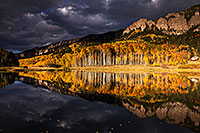 /images/133/2015-10-04-clear-reflection-6d_2181.jpg - #12660: Images of Owl Creek Pass … October 2015 -- Clear Lake, Owl Creek Pass, Colorado
