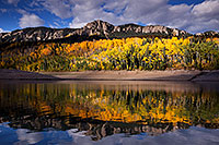 /images/133/2015-10-04-silver-reflection-6d_1893.jpg - #12732: Images of Owl Creek Pass … October 2015 -- Silver Jack Reservoir, Owl Creek Pass, Colorado