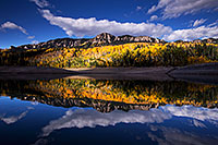 /images/133/2015-10-04-silver-reflection-6d_1938.jpg - #12665: Images of Owl Creek Pass … October 2015 -- Silver Jack Reservoir, Owl Creek Pass, Colorado
