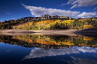 /images/133/2015-10-04-silver-reflection-6d_1956.jpg - #12734: Images of Owl Creek Pass … October 2015 -- Silver Jack Reservoir, Owl Creek Pass, Colorado