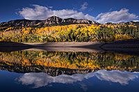 /images/133/2015-10-04-silver-reflection-6d_2016.jpg - #12735: Images of Owl Creek Pass … October 2015 -- Silver Jack Reservoir, Owl Creek Pass, Colorado