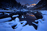 /images/133/2016-10-06-maroon-snowy-7036-1dx_26894.jpg - #13128: Maroon Bells sunrise … October 2016 -- Maroon Bells, Colorado